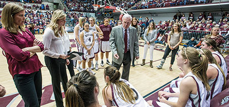 Selvig coaches his squad – which ended up being his last group – this past winter.