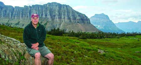 Ric Hauer at Glacier National Park